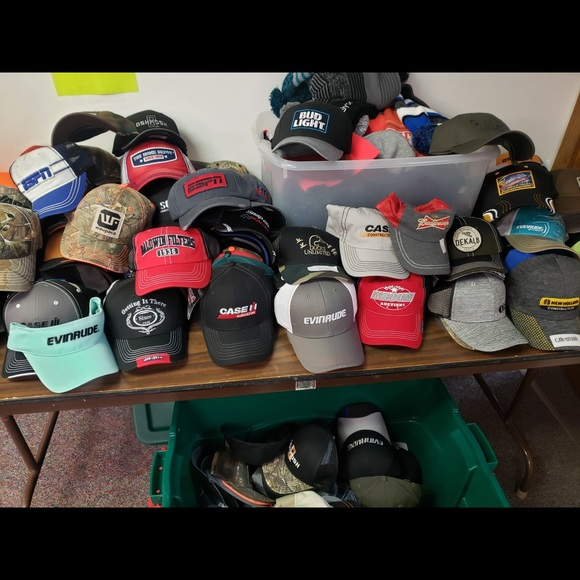 Mystery Lot of 20 Hats
